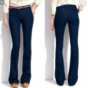 Madewell Dark Wash WideLegger Jeans